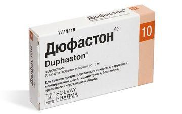 Препарат Дюфастон — эффективная медикаментозная практика при кисте яичника