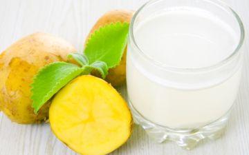 Лечение картофельным соком миомы матки. Народные средства