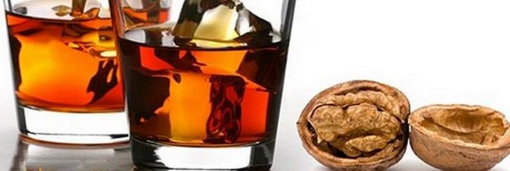 лекарственная настойка на перегородках грецкого ореха