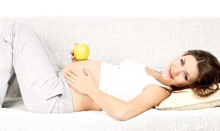 Беременная пациентка чувствует себя хорошо