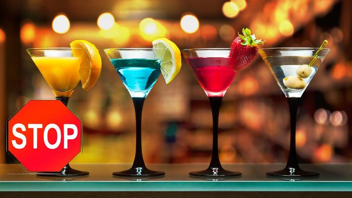 Нельзя пить алкоголь при лечении миомы