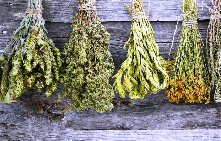 Сбор лечебных трав при доброкачественной опухоли матки