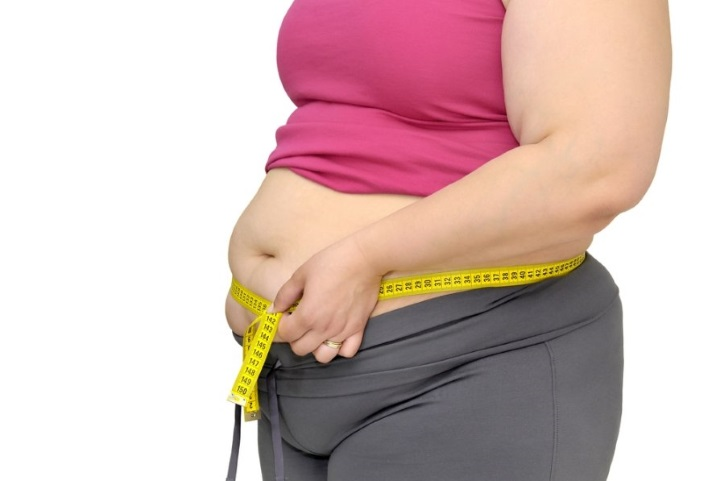 Ожирение приводит к шеечной миоме