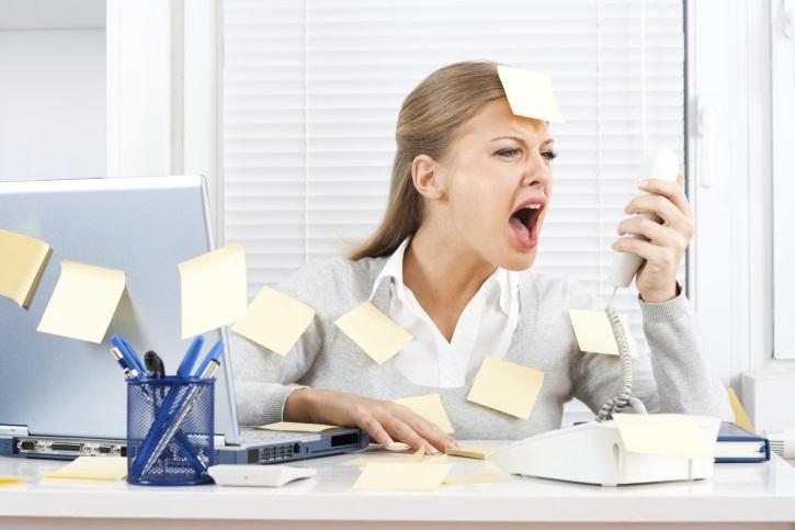 Стресс выступает причиной образования на матке