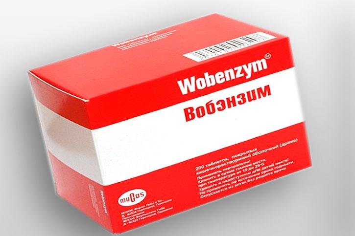 Вобэнзим - вспомогательная терапия при миоме