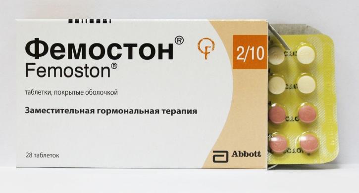 Фемостон использую в лечении женских болезней