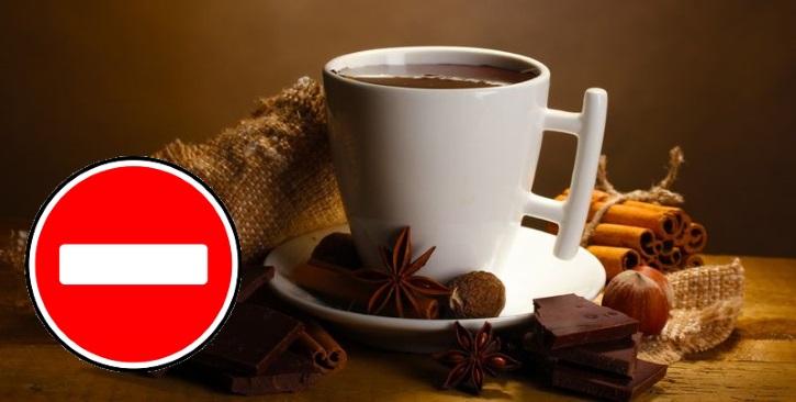Нельзя шоколад и кофе после операции на кисту яичника