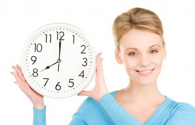 Время приема контрацептивов