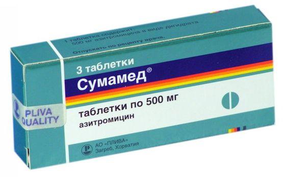 Сумамед при гиперплазии и миоме