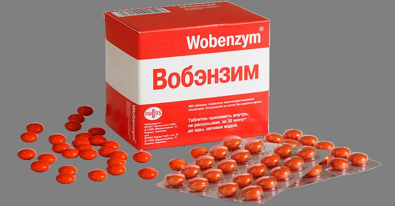 Вобэнзим при эндометрите: отзывы, применение и побочные эффекты