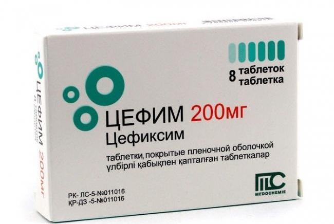 Цефиксим в лечении метроэндометрите
