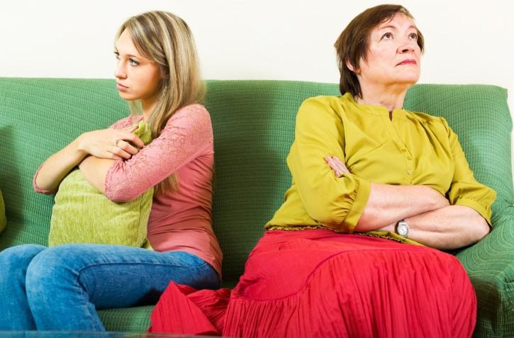 Обида на мать как причина эндометриоза