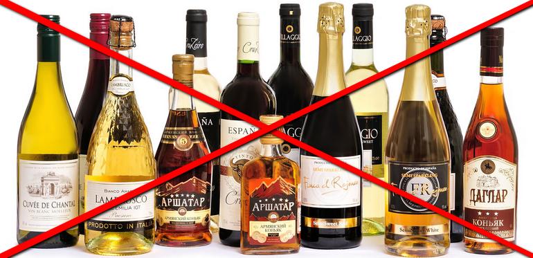 алкоголь при эндометриозе