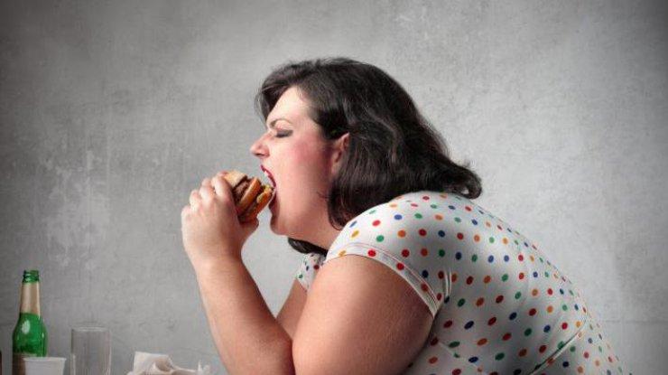 Oжирение при полипах яичников