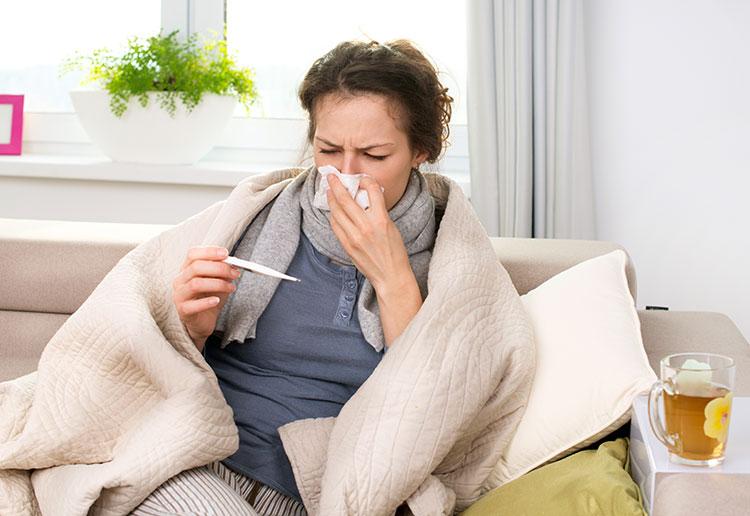 Респираторные инфекции при эрозии