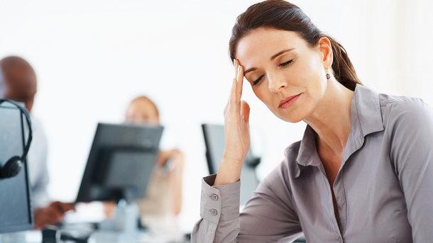 Стресс разрушает здоровье женщины
