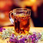 Чай из шалфея и мяты